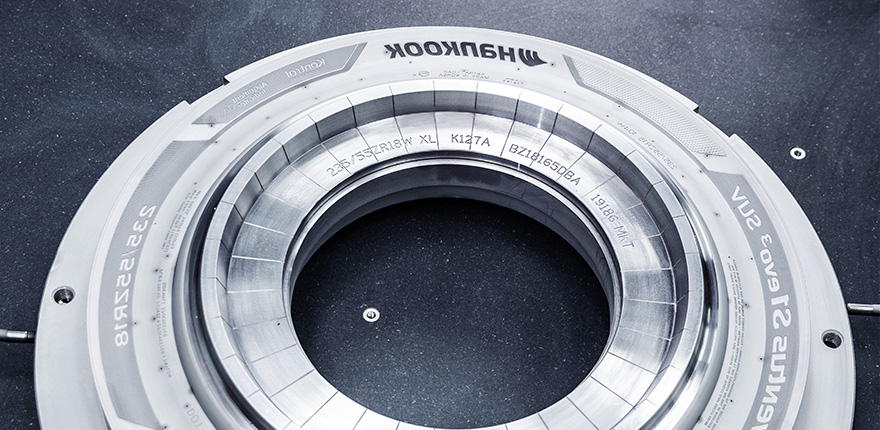 Hankook Precision Works – Tire Engraving Mold 05