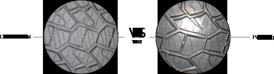 한국프리시전웍스 (구)MK테크놀로지, Hankook Precision Works – Tire Conventional vs Polishing