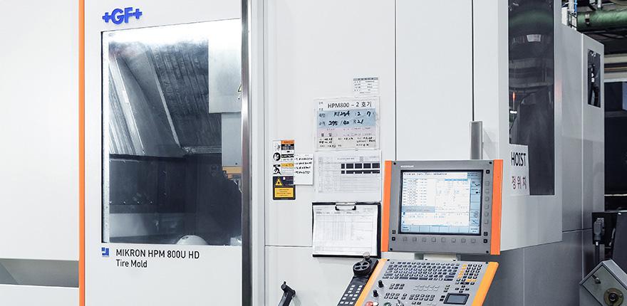 한국프리시전웍스 (구)MK테크놀로지, Hankook Precision Works – 5Axis MCT HPM800 05