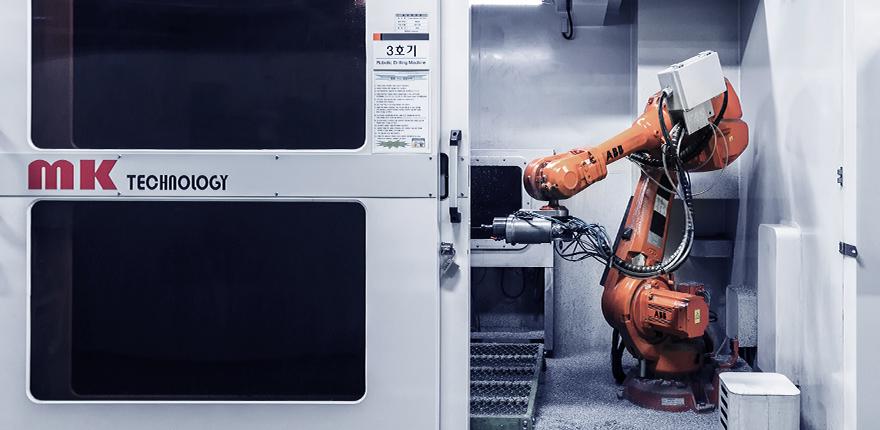 한국프리시전웍스 (구)MK테크놀로지, Hankook Precision Works – 로봇 공장 자동화 01